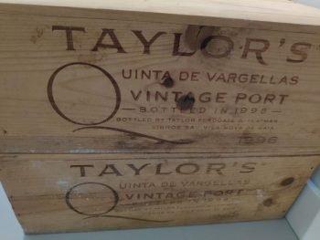 Taylor's Quinta de Vargellas vintage port 1996