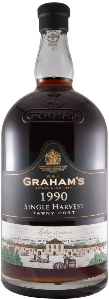 Graham's Single Harvest Port 1990
